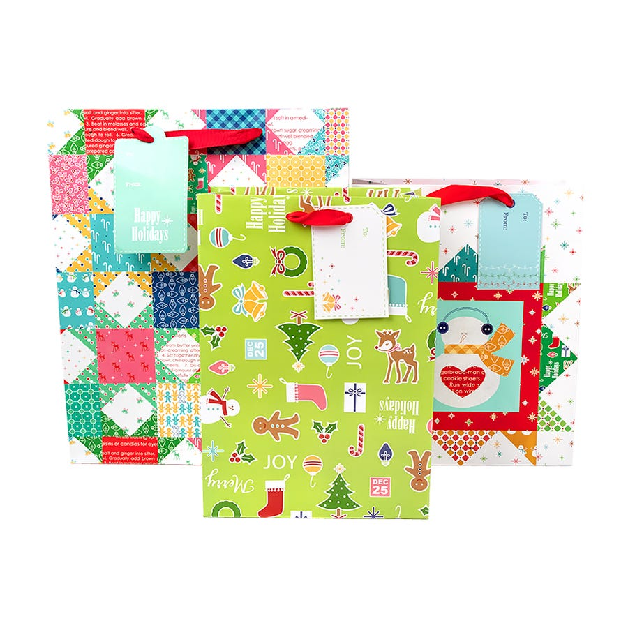 Lori Holt Gift Bag Quilty Set of 24