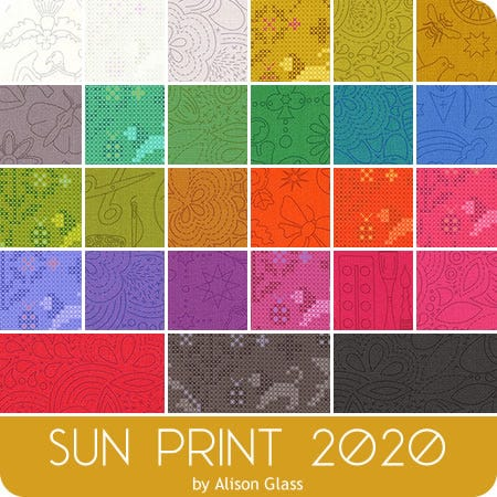 Sun Print 2020 Charm Pack Alison Glass For Andover Fabrics Fat