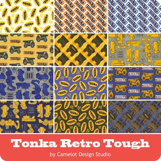Tonka Retro Tough Fat Quarter Bundle Camelot Design Studio For Camelot Cottons Fat Quarter Shop