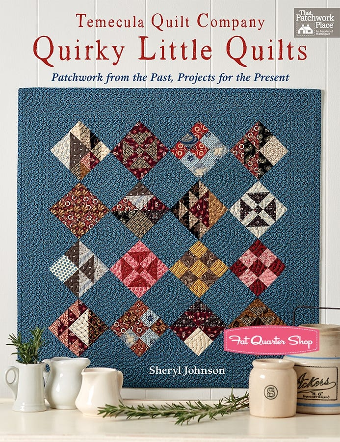 PERFECTLY IMPERFECT QUILT QUILTING PATTERN From Kimberbell NEW