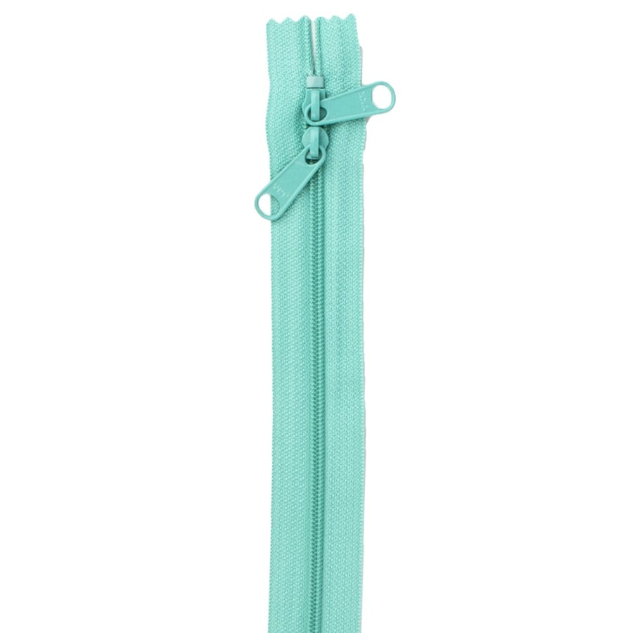 Turquoise 30 Double Slide Zipper