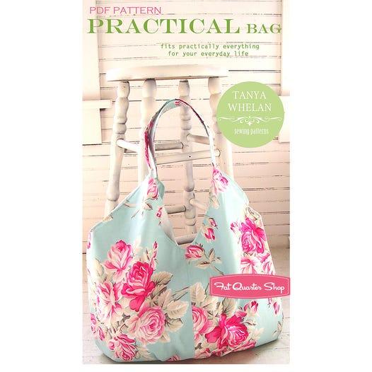 Practical Bag Downloadable PDF Sewing Pattern | Tanya Whelan ...