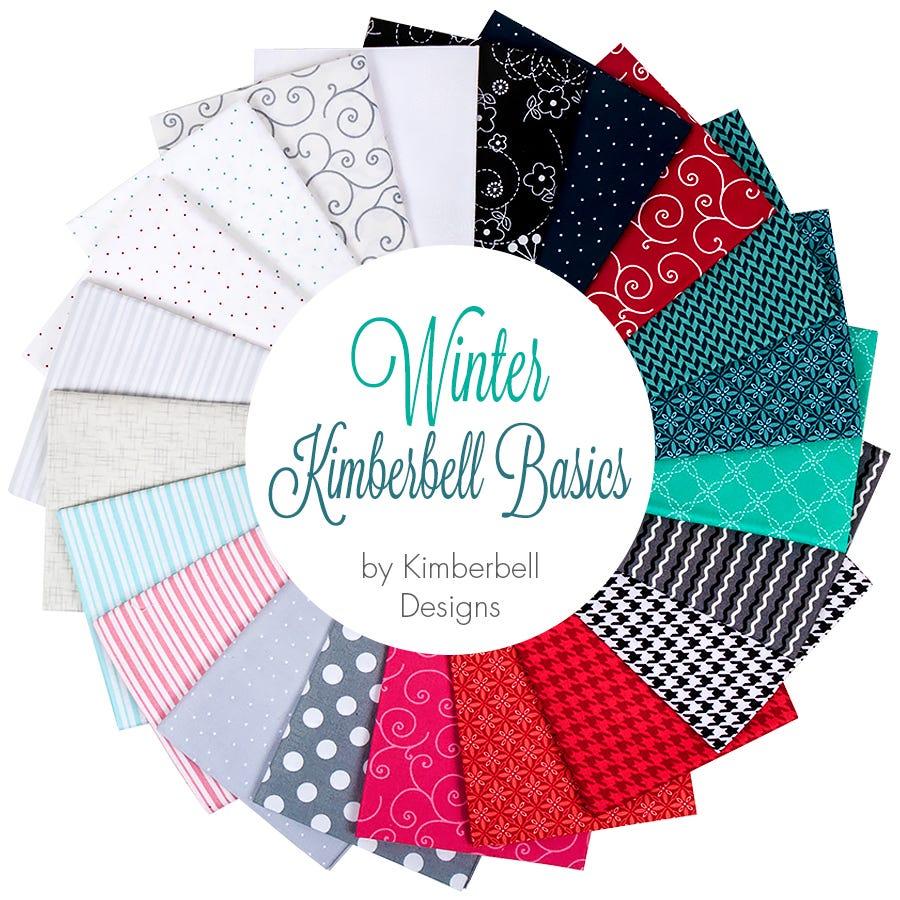Winter Kimberbell Basics Fat Quarter Bundle Kimberbell Designs For Maywood Studio Fabrics Fat Quarter Shop
