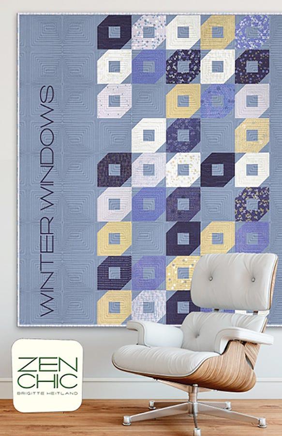 Winter Windows Quilt Pattern | Zen Chic #ZC-WWQP