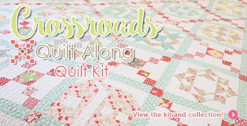 Crossroads Quilt Along Quilt Kit