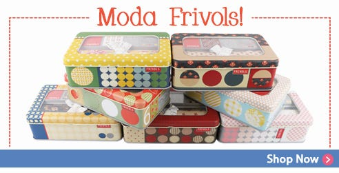 Frivols Collectible Tins by Moda Fabrics