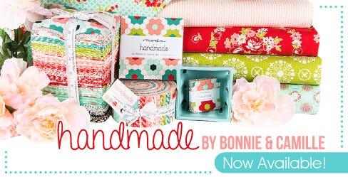 Handmade by Bonnie & Camille for Moda Fabrics