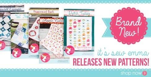 It's Sew Emma New Quilt Patterns