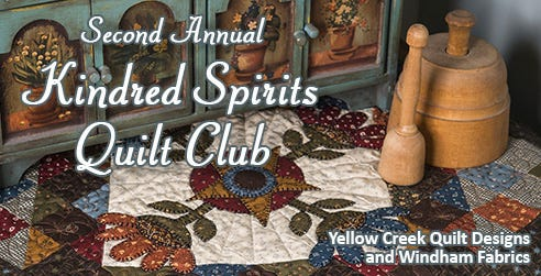 Second Annual Kindred Spirits Quilt Club