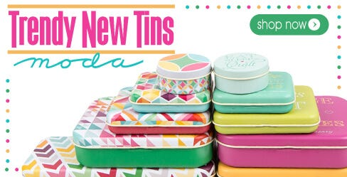 Moda Collectible Storage Tins