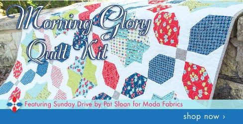 Morning Glory Quilt Kit