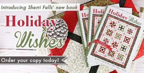 Holiday Wishes Book By Sherri Falls of This & That Pattern
