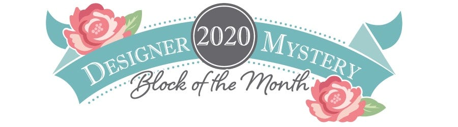 2020 Designer Mystery Block of the Month Quilt Kit