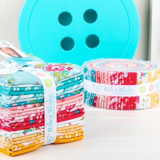 100/% cotton fabric for sewing Come Fly with me 5 piece fat quarter bundle