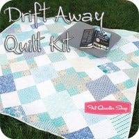 Drift Away Quilt Kit by Melissa Cory
