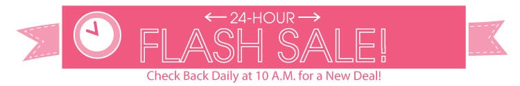 24 Hour Flash Sales at the Fat Quarter Shop!