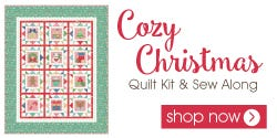 Cozy Christmas by Lori Holt Quilt Kit