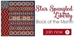 Star Spangled Liberty Block of the Month
