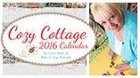 2016 Cozy Cottage Calendar by Lori Holt Fat Quarter Shop Video