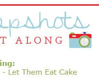 Click to watch Snapshots Quilt Along Block 1: Let Them Eat Cake with Kimberly, Bonnie & Camille!