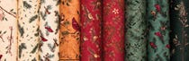 Cardinal Reflection Flannel by Holly Taylor for Moda Fabrics
