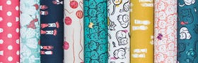 Cat Lady by Sarah Watts by Cotton + Steel Fabrics
