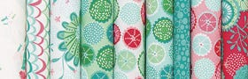 Coral Queen of the Sea by Stacy Iest Hsu for Moda Fabrics