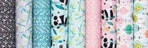 Panda-rama by Maude Asbury for Blend Fabrics