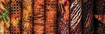 Turning Leaves Batiks by Hoffman Fabrics