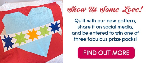 Piece, Love and Quilting