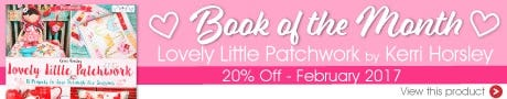 Fat Quarter Shop Quilting Book of the Month
