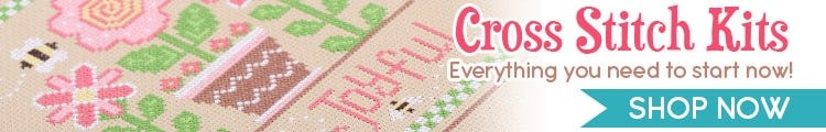 Shop our Cross Stitch Kits