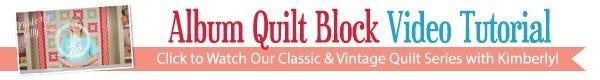 Album Quilt Kit Youtube Tutorial