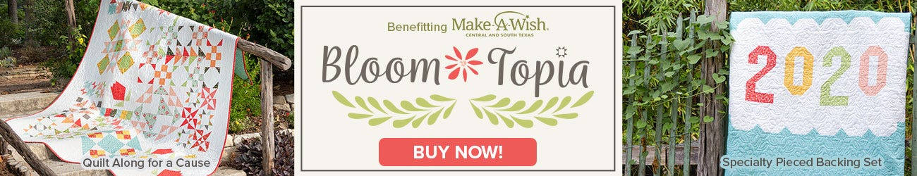 Bloom-Topia Quilt Kit