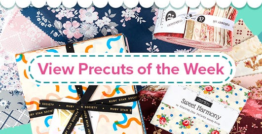 Weekly Precut Quilt Fabric Sale