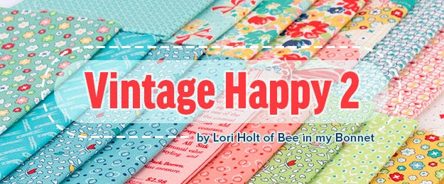 Vintage Happy 2 by Lori Holt for Riley Blake Fabric