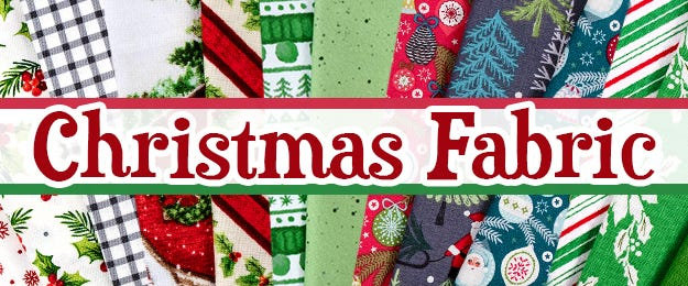 Christmas Quilting Fabric