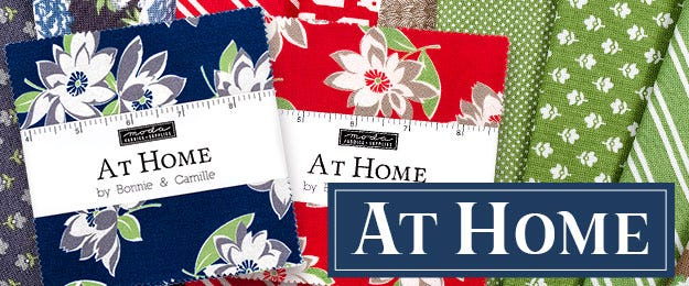 At Home by Bonnie & Camille for Moda Fabrics