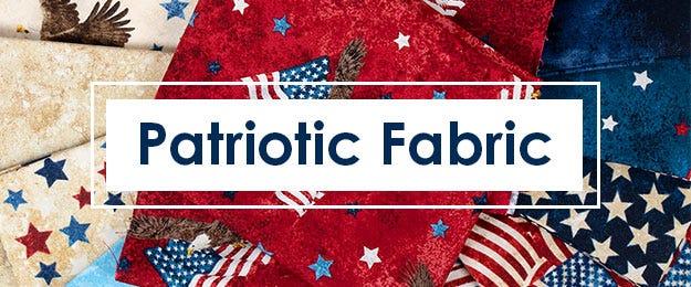 Patriotic Quilt Fabric