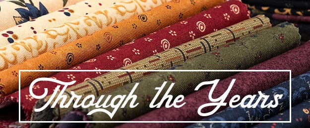 Through the Years by Kansas Troubles Quilters for Moda Fabrics